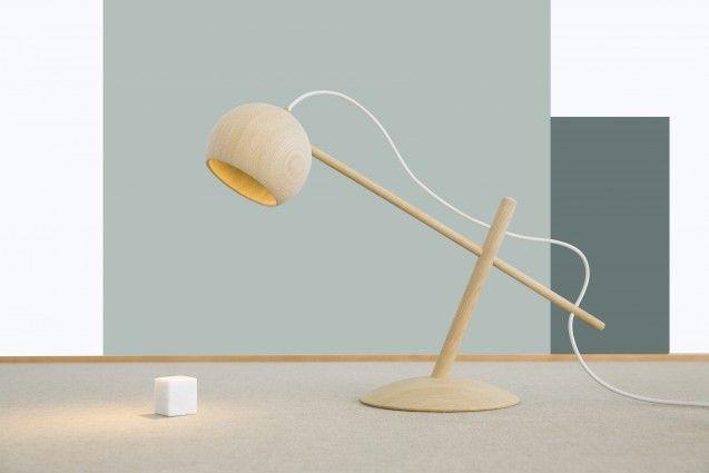 The Lune Lamp by Brdr. Krüger