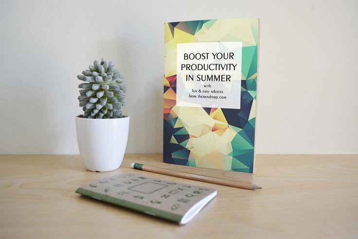 Simple book cover design - #mockup