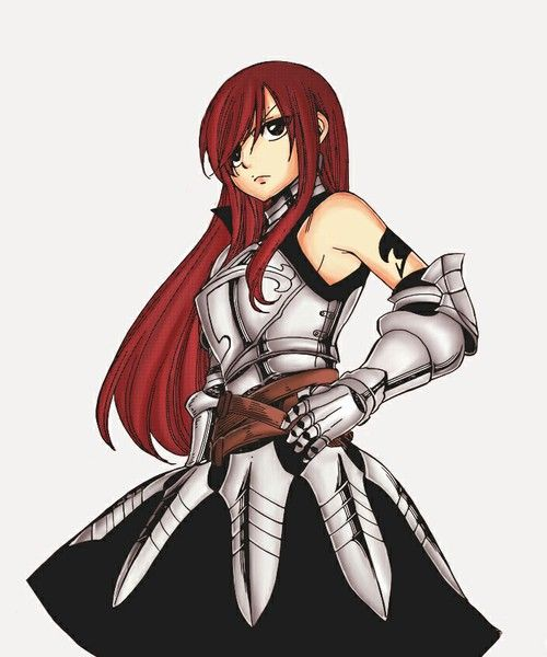 Erza  !!!!!!!SPOILER WARNING!!!!!! { Erza - seventh guild master }