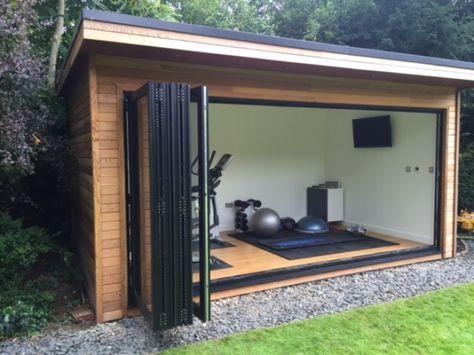 Gallery – Contemporary garden rooms – Garden room, garden office, garden studio, …, #galerie #gartenburo #garden house #gardenstudio