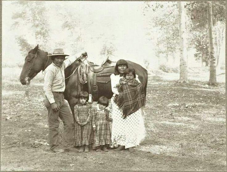 Piaute family family history native american heritage