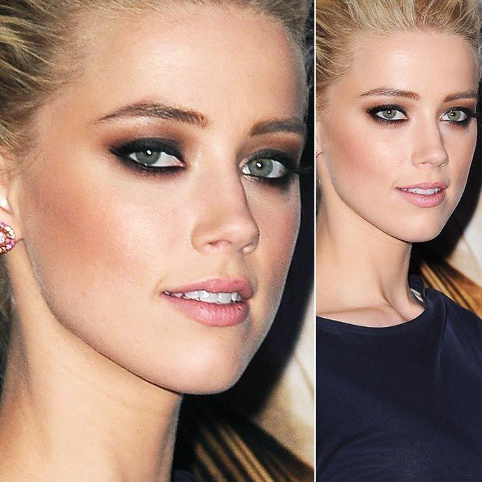 5 maquiagens de Amber Heard