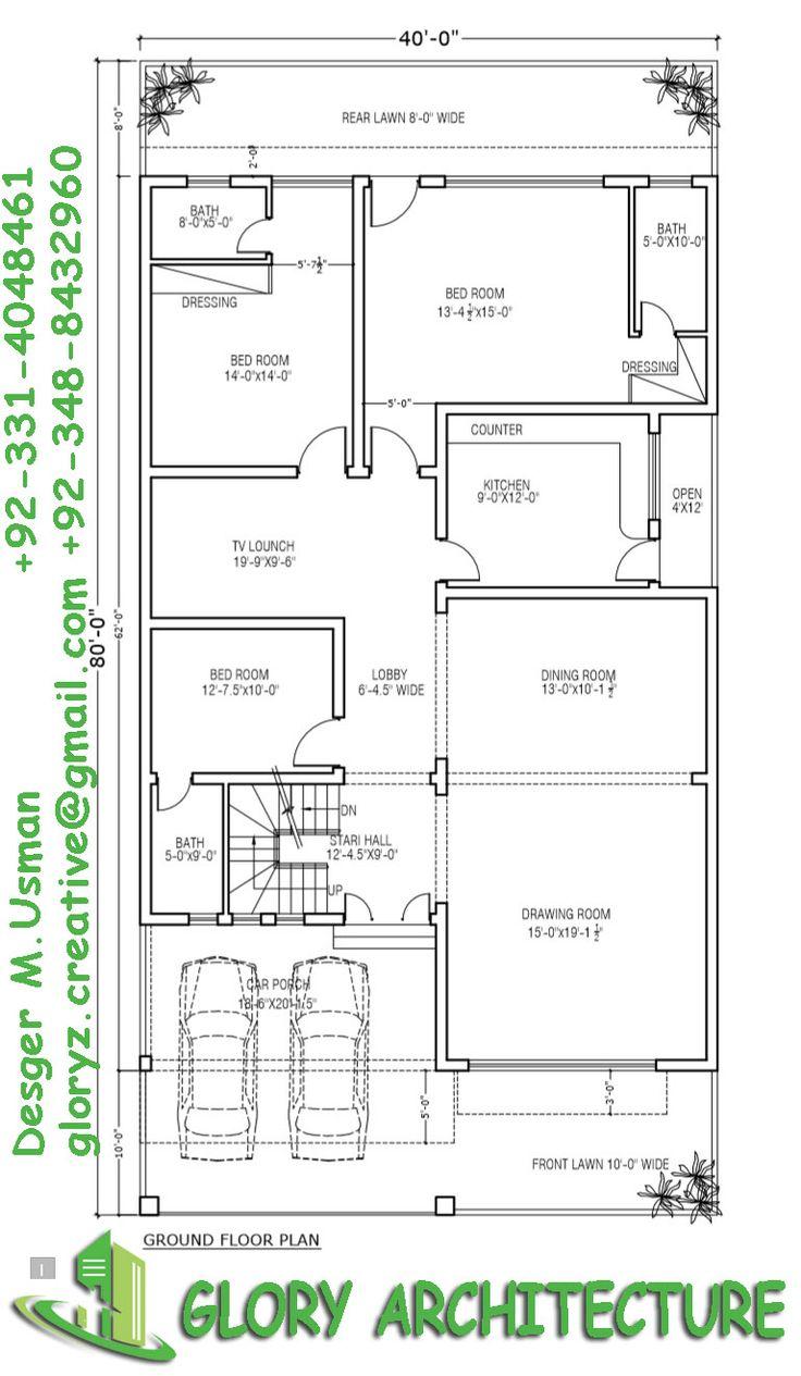 24 best house plans images on pinterest house design for 35x60 house plans