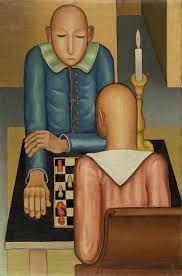 Massimo Campigli, Il gioco degli scacchi, 1921
