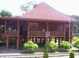 Nuwo Sesat Olok Gading Uniknya Rumah Adat Khas Lampung - Lampung