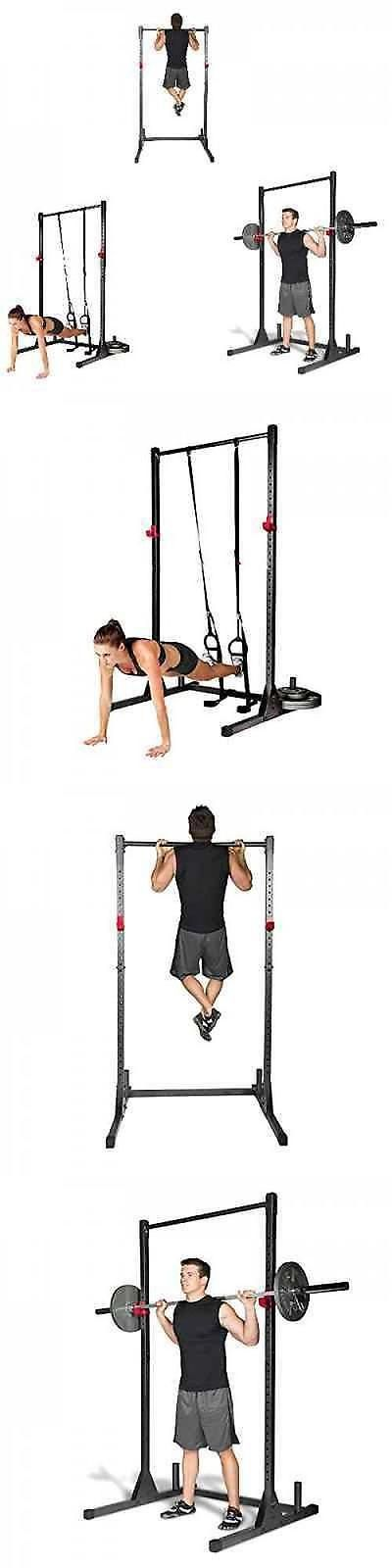 Pull Up Bars 179816: Home Gym Pull Up Bar Power Rack Exercise Stand Body Building Workout Fitness New -> BUY IT NOW ONLY: $110.68 on eBay!