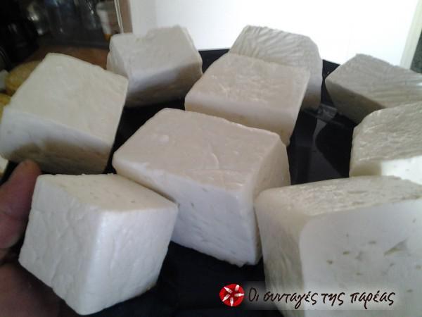Φτιάχνω τυρί φέτα #sintagespareas