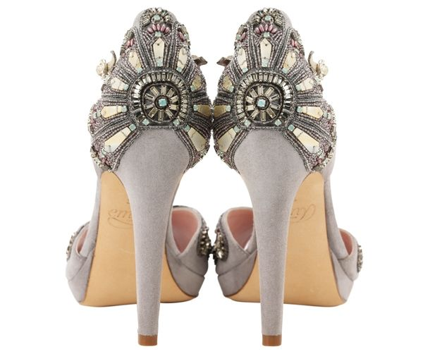 Love, love love! Emmy Shoes ~ Luxurious New Wedding Shoe Designs