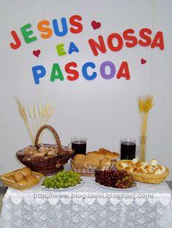 Blog da EBI: Jesus é a nossa Páscoa