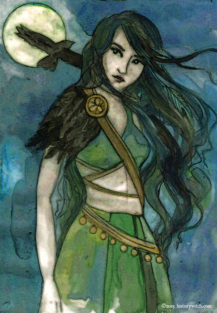 Another follower request! The Morrigan is a phantom queen from Irish mythology who was/is considered the Celtic goddess of battle, strife and fertility. She is a shape-shifter that takesthe form o…