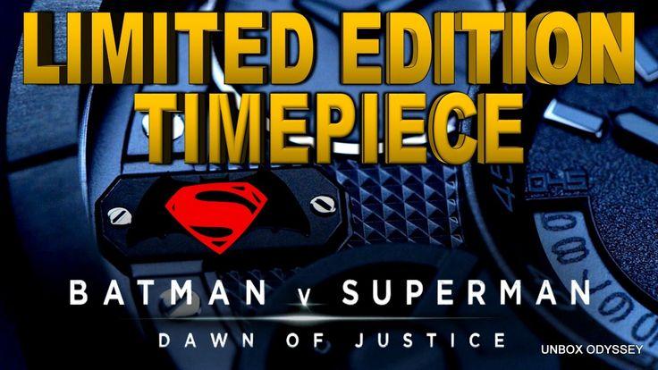 BATMAN v SUPERMAN - Limited Edition Timepiece