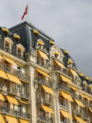 Le Montreux Place Hotel On Lake Geneva Vaud Switzerland