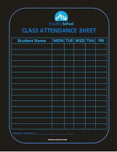 The 25 best Attendance sheets ideas on Pinterest Teacher