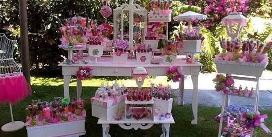 Resultado de imagen para decoracion de mesa de dulces para quince años