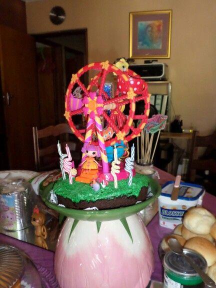 Lalaloopsy koek. My dogtertjie se 4de verjaardag.