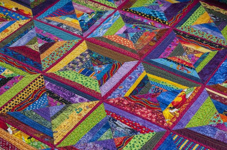Every Last Piece - featured quilt of the week - Rose Trellis
