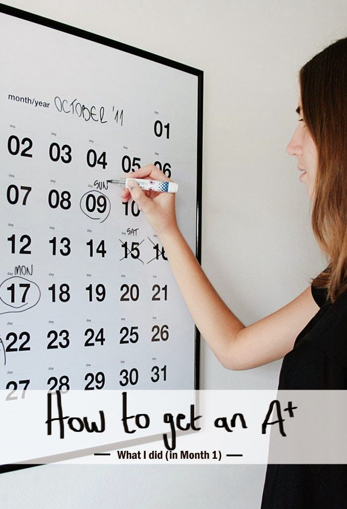 How to get an A* - (Without Going Insane. Or Breaking a Nail.... (A Chic Lifestyle)