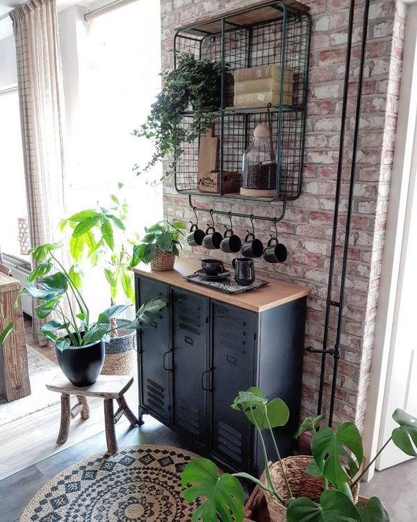 Una Casa Con Estilo Vintage Industrial Dormitorio Estilo