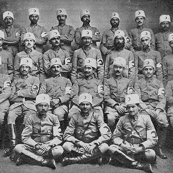 @Regrann from @ottomanarchive -  Doctors from India (modern day Pakistan Bangladesh and India) volunteered in treating Ottoman wounded soldiers during the Balkan wars by serving in the Ottoman Red Crescent (Hilâl-i Ahmer) 1912. They arrived at Istanbul using their own personal expenses or via funds donated by fellow Muslims in India. This mission was led by Dr. Muhtar Ahmad Ansari. Abdur Rehman Peshawari (third row second from left) was forced to sell all of his belongings to come to…