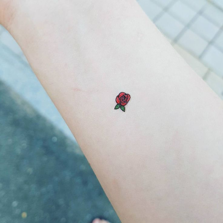 rose-tattoos-minimal-arm-design The Most Lovely and Beautiful ever inked #rose #tattoo designs to get inked