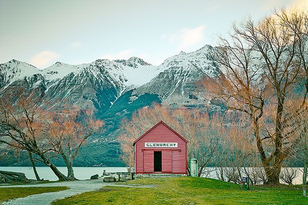 Penembakan New Zealand Pinterest: Glenorchy, New Zealand By Aquabumps