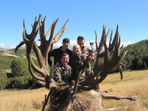 World record sci red stag deer taken spey creek trophy for Texas non game fish