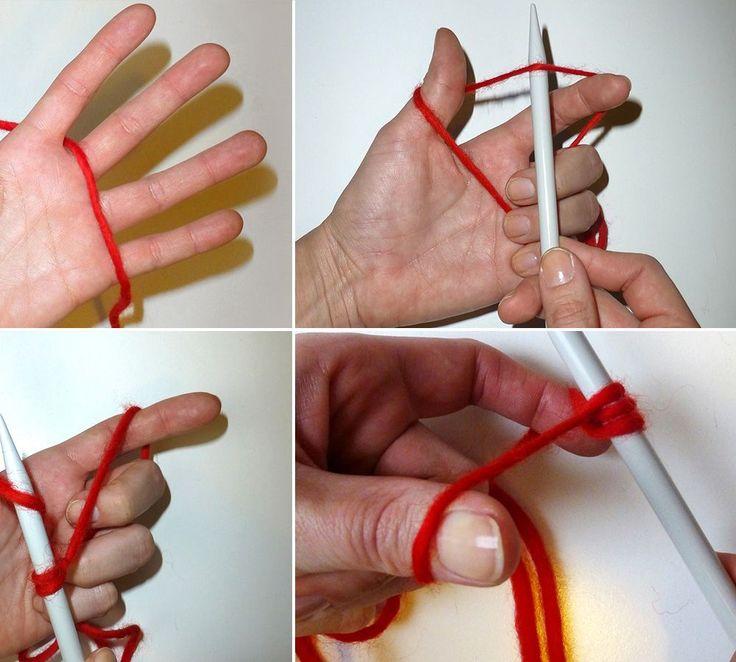 Wir zeigen Ihnen in unserem Video wie Sie beim Stricken die Maschen richtig aufnehmen und die Maschen anschlagen.
