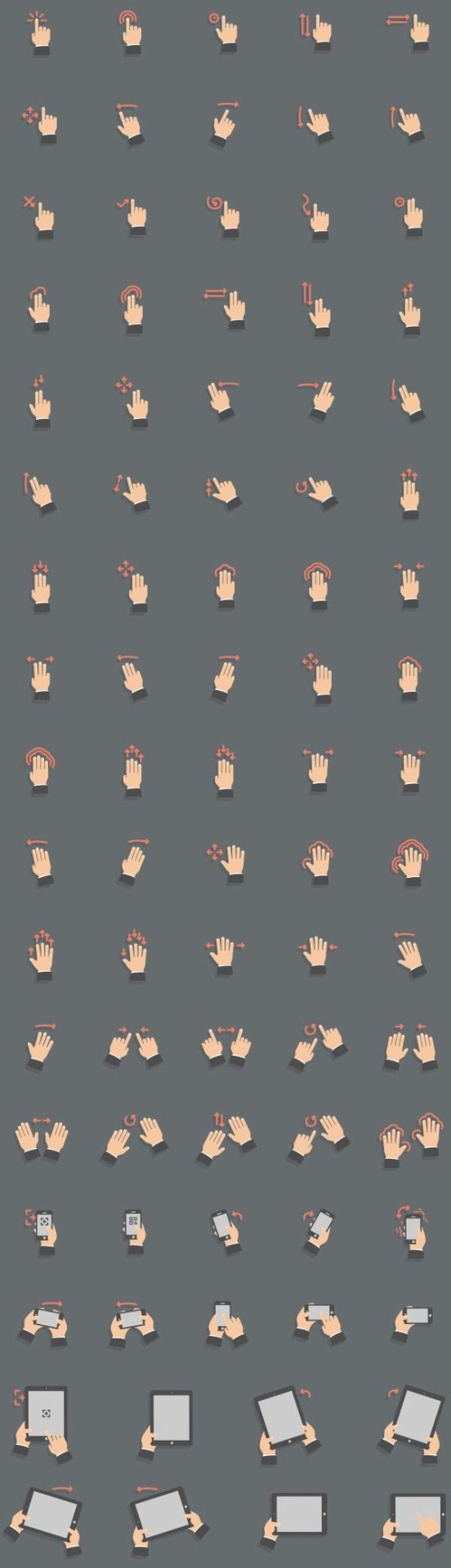 Every touch gesture you could ever want.