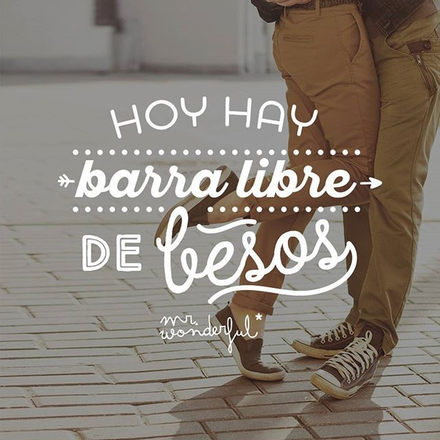 Esta noche se pone interesante… #mrwonderful #quotes #design #love