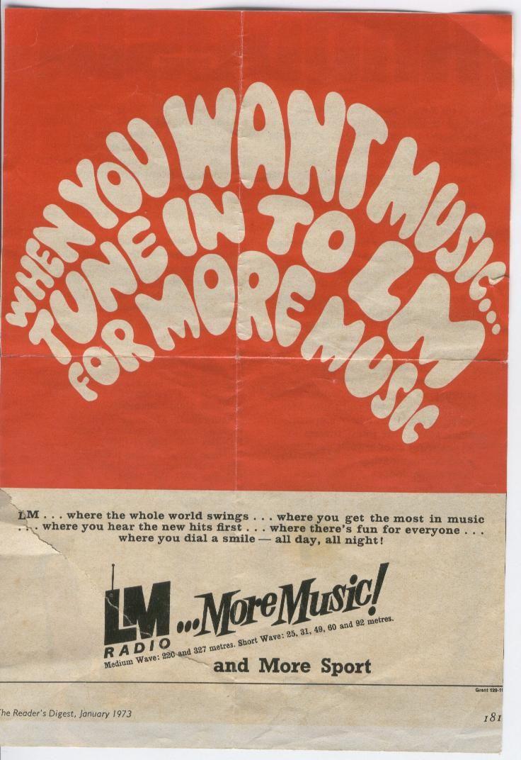 LM Radio Photos - Magazine Advertisement