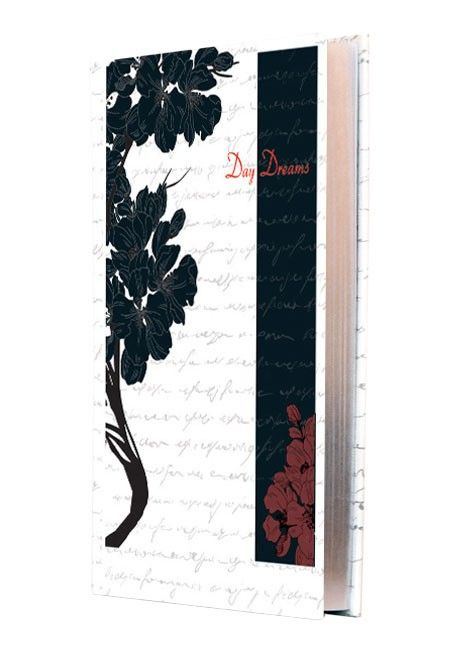 """""""Day and Night Journal - B"""" : This classic notebook is the perfect memory keeper to track the ups and downs of life day by day every day and night."""