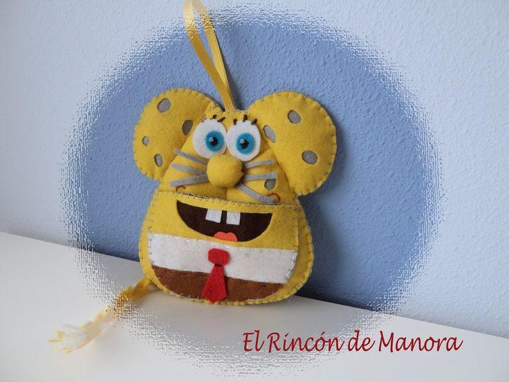 Mouse Esponja
