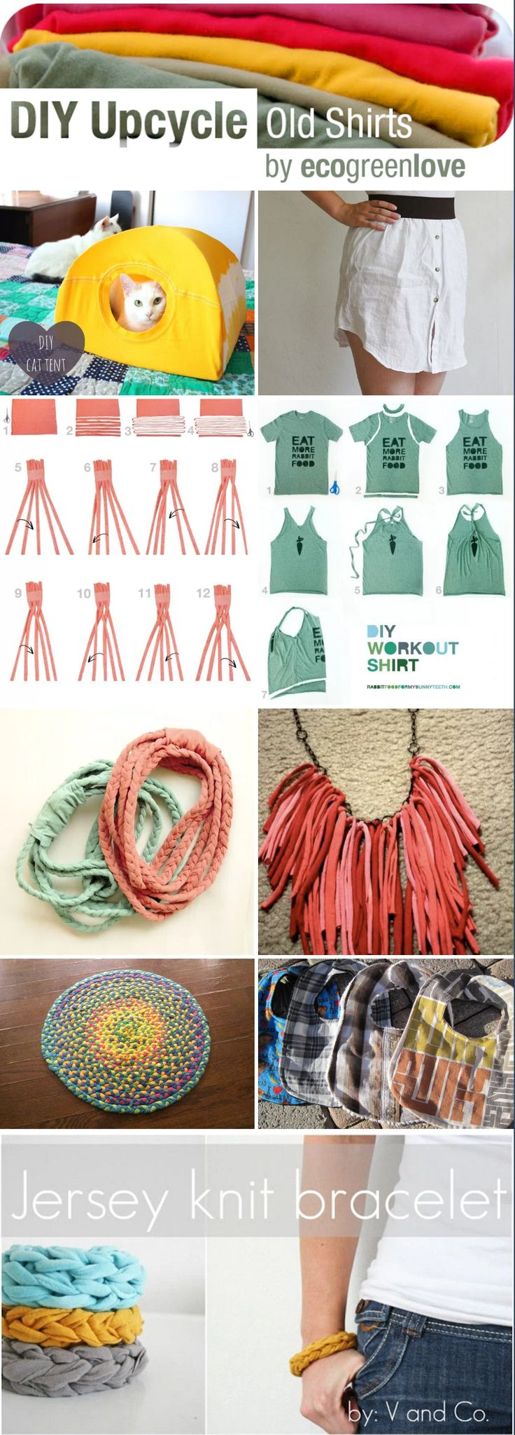 1000 ideas about reuse old clothes on pinterest old for Creative ways to recycle
