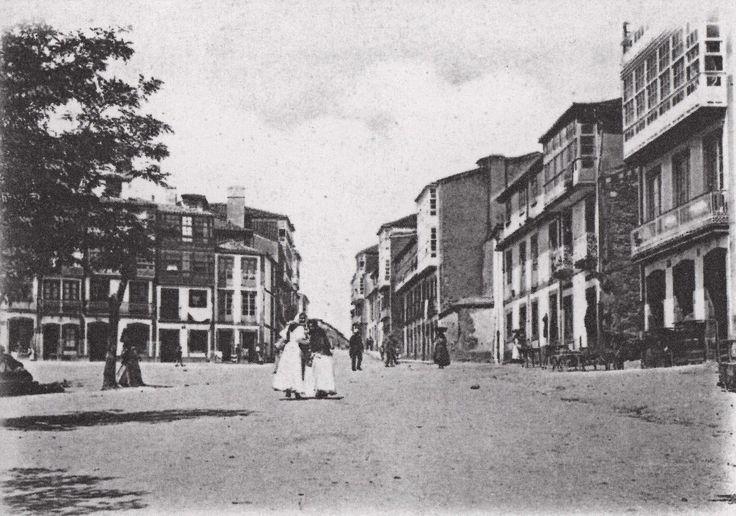 Calle de La Torre desde el Campo de Leña,