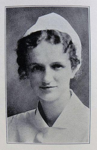 Hildegard Peplau - the first Psychiatric Nurse - Yearbook photo 1931