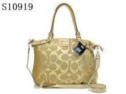COACH 34340 PRAIRIE SATCHEL BAG HANDBAG GOLD/FROG GREY NWT #Coach #Satchel