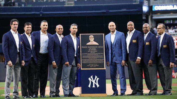 Yankees retire Derek Jeter's No. 2