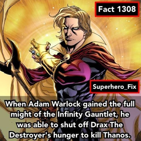 I wonder if Adam Warlock will appear in Infinity War  - #thanos #guardiansofthegalaxy #marvel #avengers