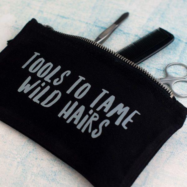 Tools To Tame Wild Hairs' Washbag Set For Men