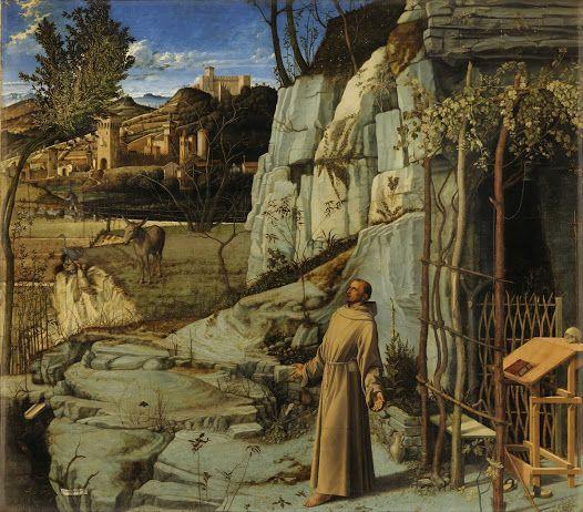 St. Francis in the Desert - Giovanni Bellini - Google Cultural Institute