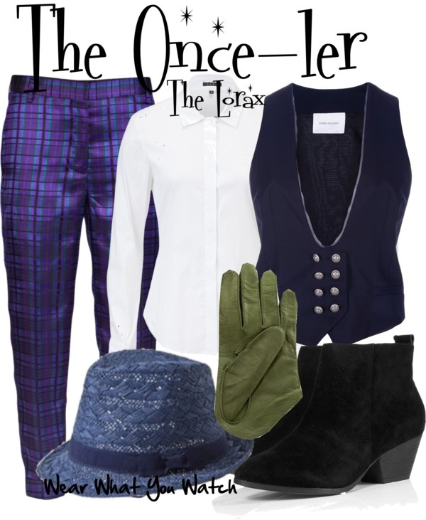 Inspired by the character The Once-ler voiced by Ed Helms in the 2012 animated film.: Oncel, Inspiration Outfits, Themed Outfits, Animal Film, Outfits Inspiration, Movie Outfits, Film Inspiration, Theme Outfits, Character Outfits