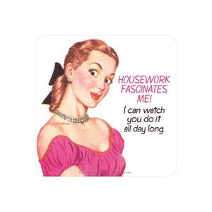 Housework Coaster II 6Pk now featured on Fab.