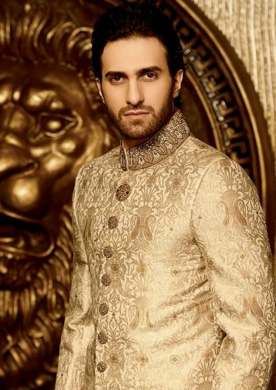 "The menswear generally remains unchanged, wherein the use of ""Sherwani"" – a long coat, is still worn on traditional occasions like marriages. However, the trend of adding embroidery is on the increase, perhaps to compete with the women."