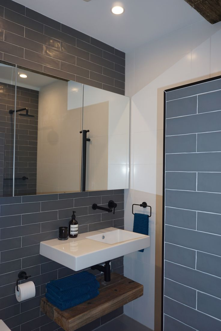 Bathroom ideas. Bathroom tiles. Bathroom design. Industrial bathroom. Check it out here - https://lukesrenovations.com.au/product/chippendale-2/