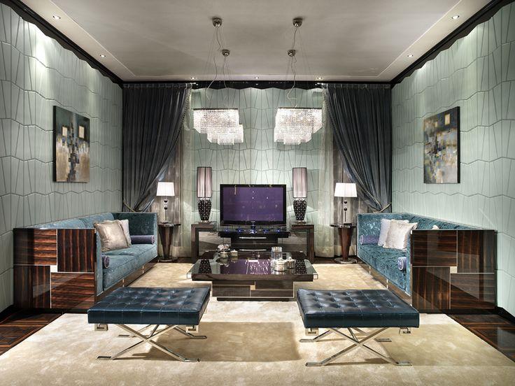 Francesco Molon D542 Living Room Setting