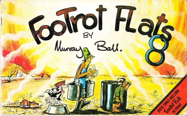 1983 footrot flats #Comic book by murray ball no.8 - very good condition from $5.29