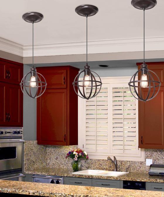 Globe Bronze Pendant - Pendant Lighting - Ceiling Fixtures - Lighting | HomeDecorators.com