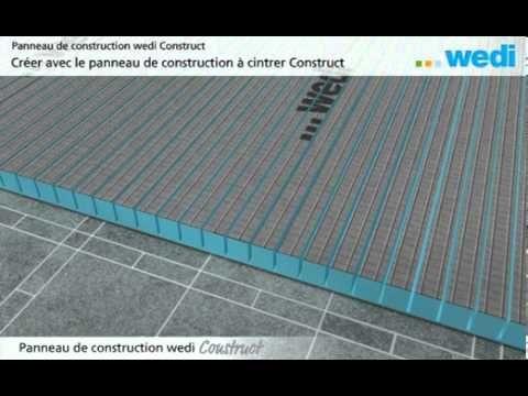 Panneaux de construction wedi, la solution pratique pour le carrelage !