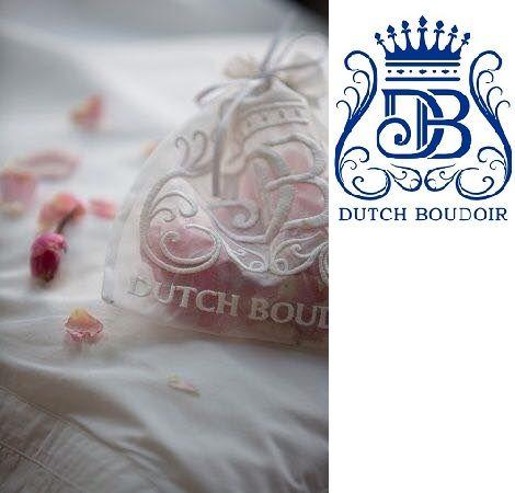 dutch boudoir luxery bed fashion geurzakje lavendel  overtrek,sprei katoen satijn nekrol  romantisch frans sfeervol  bij dealer slaapkenner theo bot