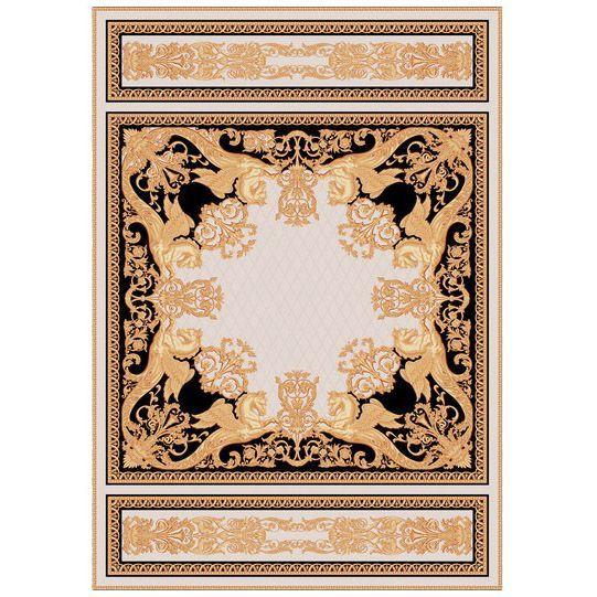 Ковер золотой узор Versailes #carpets #rug #ковер #designer #interior